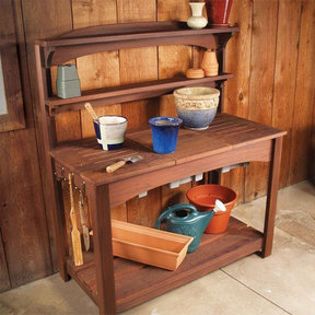 Potting Bench - Paper Plan