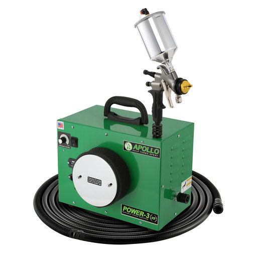 View a Larger Image of Power-3 VS HVLP Spray System with Gravity Feed Spray Gun