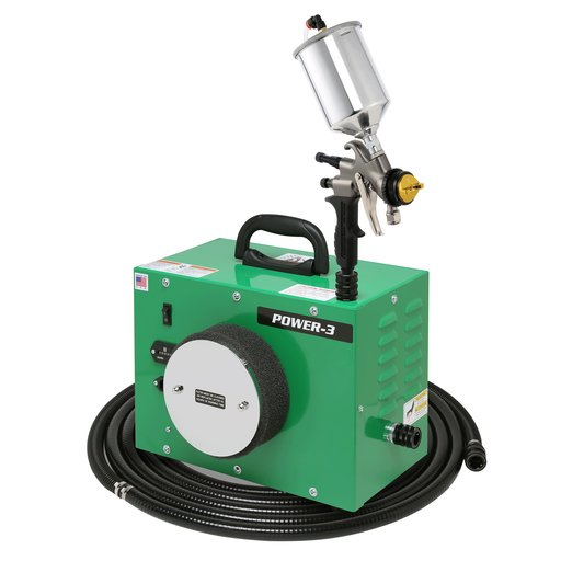 View a Larger Image of POWER-3 with A7700GT-600 spray gun