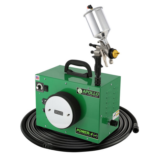 View a Larger Image of Power-4 VS HVLP Spray System with Gravity Feed Spray Gun