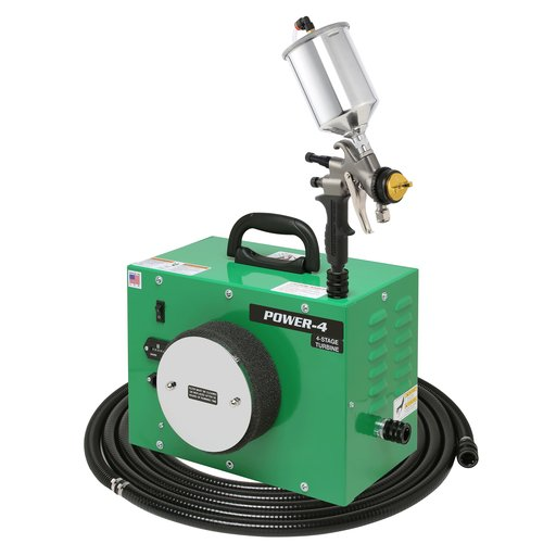 View a Larger Image of POWER-4 with A7700GT-600 spray gun