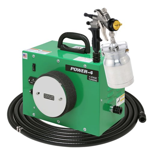 View a Larger Image of POWER-4 with A7700QT spray gun