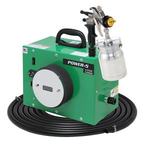 POWER-5 with A7700QT spray gun