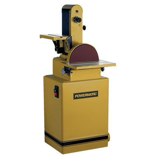 "View a Larger Image of Belt/Disc Sander with 6"" x 48"" Belt, 2HP 3PH 230/460V, Model 31A"