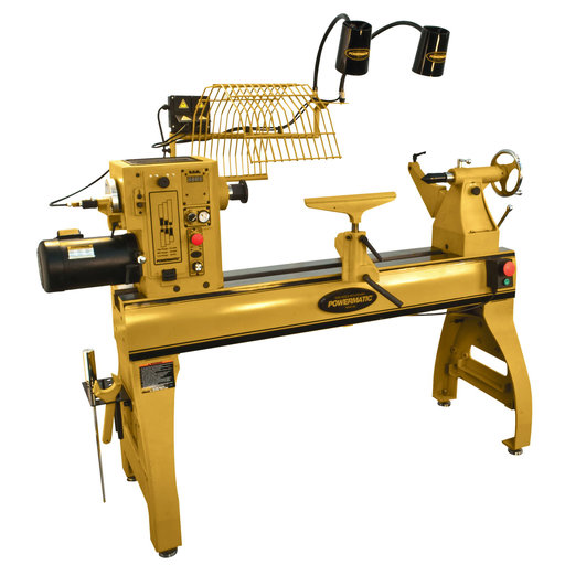 View a Larger Image of Powermatic Lathe with Lamp Kit Model 4224B