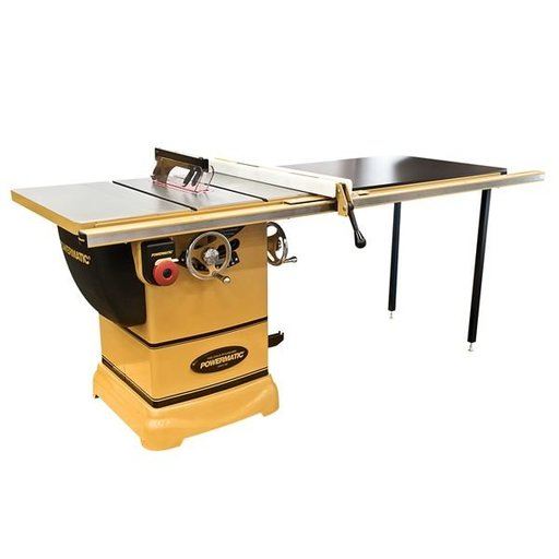 "View a Larger Image of PM1000 Table saw, 1-3/4HP, 1PH, 52"" Accu-Fence System"