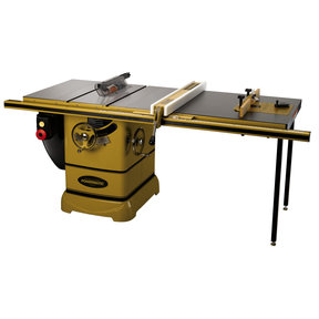 "PM2000, 5HP 3PH Table Saw w/ 50"" Accu-Fence System & Rout-R-Lift"