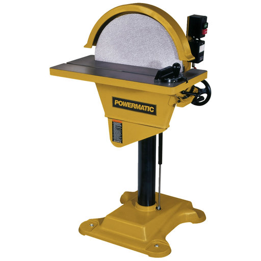 View a Larger Image of Sander Model DS-20, 3HP, 3Ph, 230V/460V