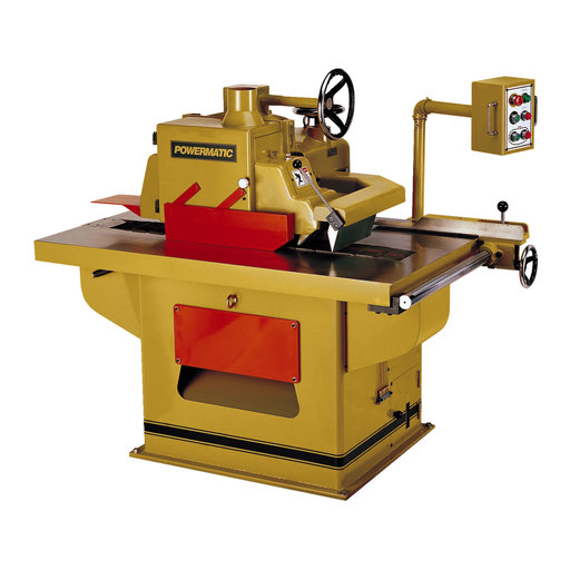 View a Larger Image of 15HP 3PH 230/460V SLR12 Straight Line Rip Saw