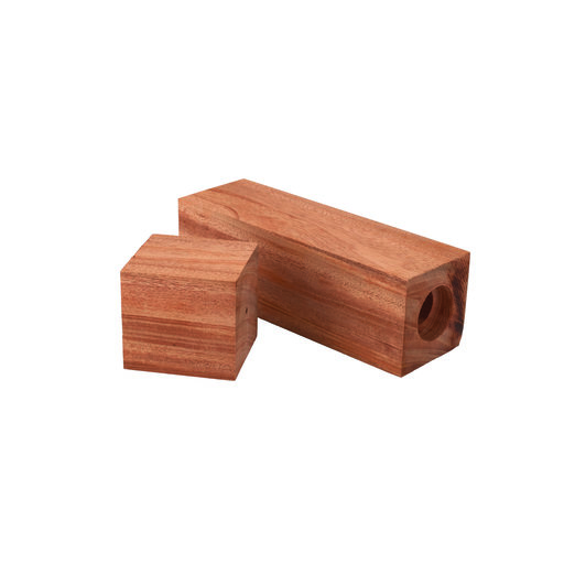 View a Larger Image of Pre-Drilled African Mahogany Peppermill Blank