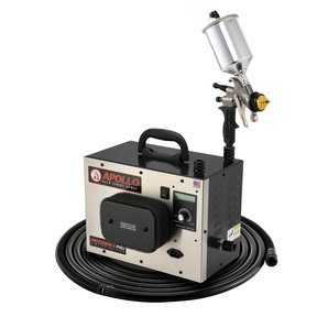 Precision-5 PRO LE HVLP Turbospray System with Gravity Feed Spray Gun