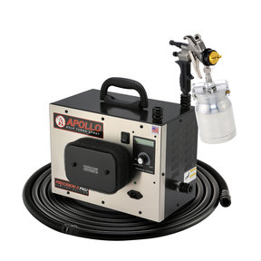 Precision-5 PRO LE HVLP Turbospray System with Quick-Release Cup Gun