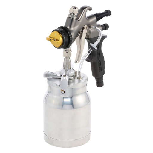 View a Larger Image of Precision-5 PRO LE HVLP Turbospray System with Quick-Release Cup Gun