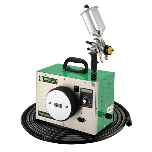 View a Larger Image of Precision-5 PRO HVLP Turbospray System with Gravity Feed Spray Gun