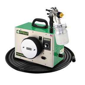 Precision-5 PRO HVLP Turbospray System with Quick-Release Cup Gun