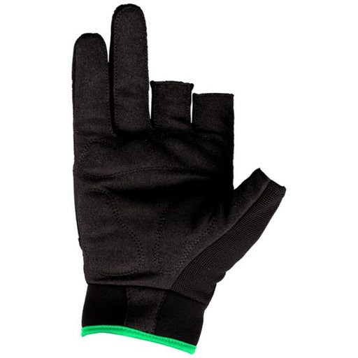 View a Larger Image of Precision Gloves, Black/Green, Medium