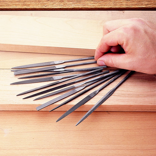 View a Larger Image of Precision Needle Files