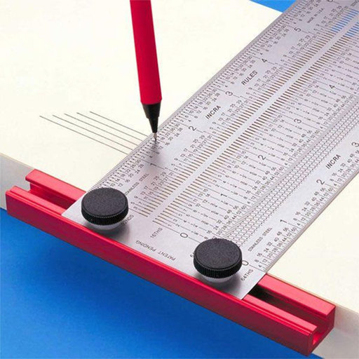 View a Larger Image of Precision T-Rule 300mm