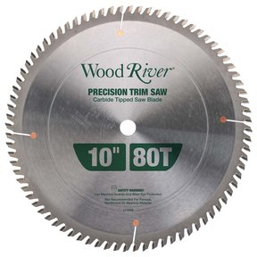 "Precision Trim Saw Blade 10"" 80T"