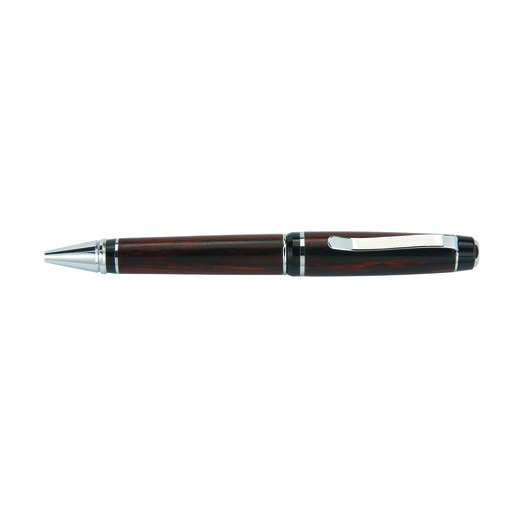 View a Larger Image of Premier Cigar Ballpoint Pen Kit - Chrome