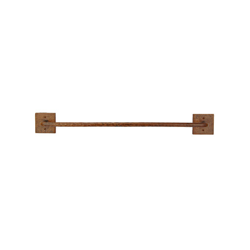 "View a Larger Image of 18"" Hand Hammered Towel Bar"