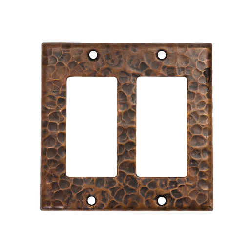 View a Larger Image of Double Ground Fault / Rocker GFI Switchplate Cover