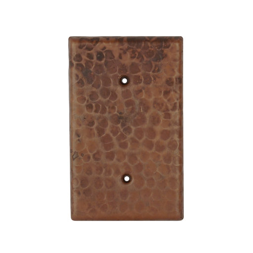 View a Larger Image of Hand Hammered Switchplate Cover, Two Hole