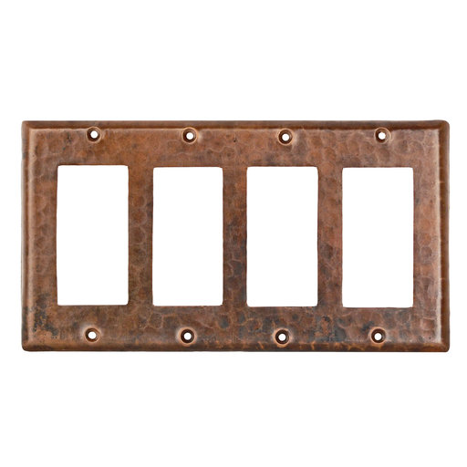 View a Larger Image of Quadruple Ground Fault/Rocker GFI Switchplate Cover