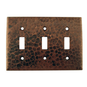 Switchplate Cover - Triple Toggle Switch