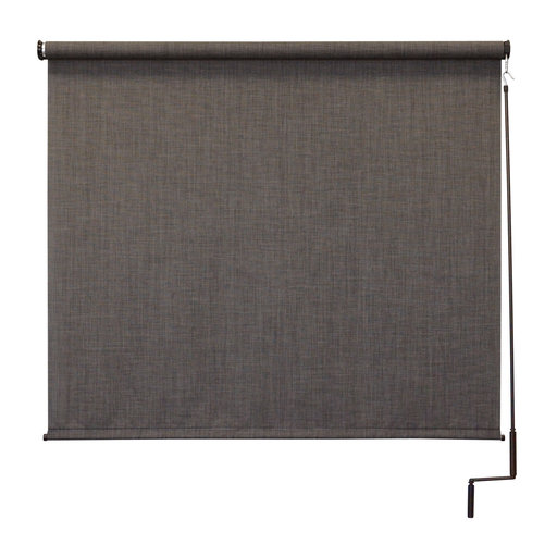 View a Larger Image of Premier Cordless Outdoor Sun Shade, 10' W x 8' L, Pepper