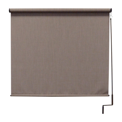 View a Larger Image of Premier Cordless Outdoor Sun Shade, 7' W x 8' L, Sandstone