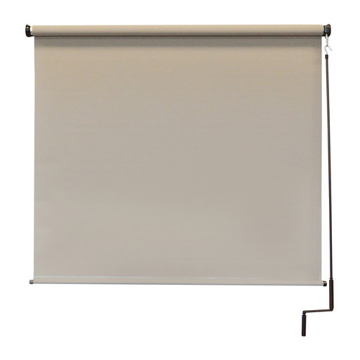 View a Larger Image of Premier Cordless Outdoor Sun Shade, 8' W x 8' L, Maple