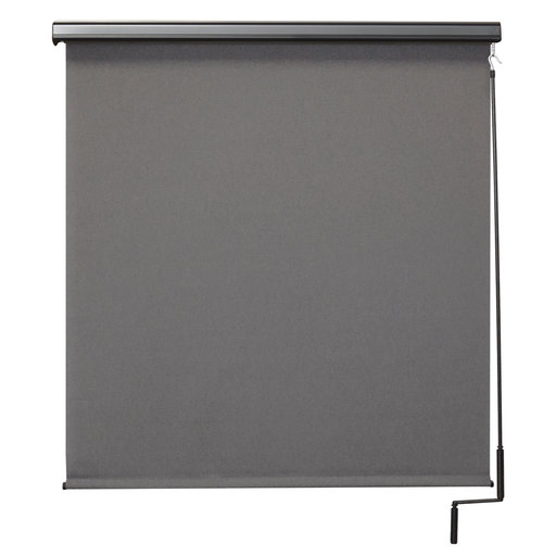 View a Larger Image of Premier Cordless Outdoor Sun Shade with Protective Valance, 8' W x 8' L, Elder