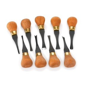 Carving Premium Deluxe Palm Handled Set 9 piece