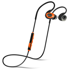 PRO Bluetooth Noise-Isolating Earbuds - Safety Orange
