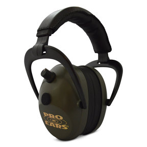 Gold II 26 - Green - Electronic Earmuffs