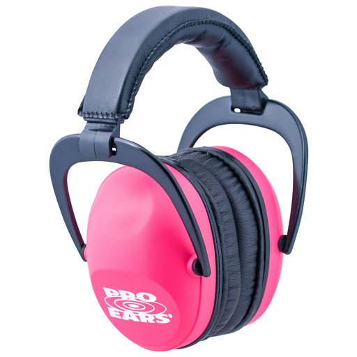 View a Larger Image of Ultra Sleek Pink - Passive Hearing Protection