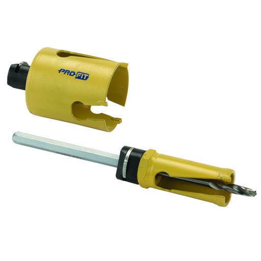 Door Hole Drilling : Pro fit door lock installation set quot and drill