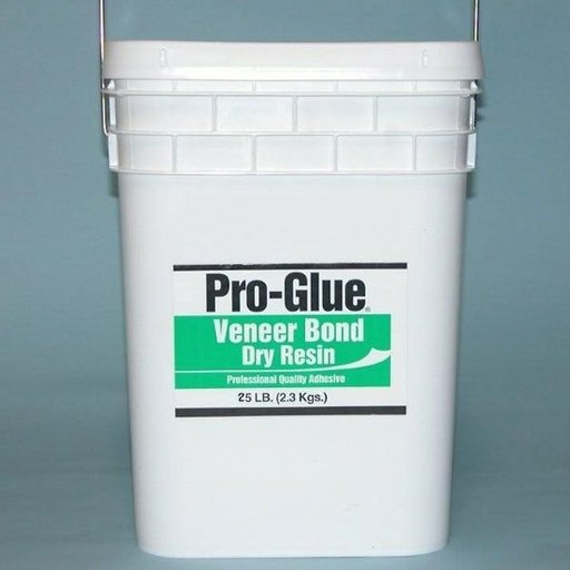 View a Larger Image of Pro-Glue Veneer Bond Dry Resin Glue, 25 lb Pail