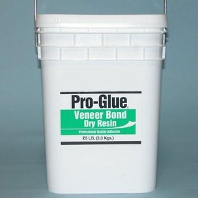 Pro-Glue Veneer Bond Dry Resin Glue, 25 lb Pail