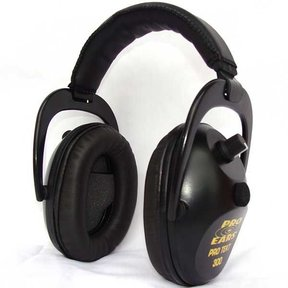 Pro TEKT 300 Electronic Hearing Protection with Standard Headband , Black