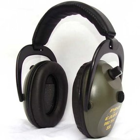 Pro TEKT 300 Electronic Hearing Protection with Standard Headband, Green