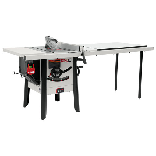 """View a Larger Image of 1-3/4HP 1PH 115V ProShop II Table Saw with Stamped Steel Wings and 52"""" Rip Capacity"""