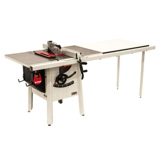 "View a Larger Image of 1-3/4HP 1PH 230V ProShop II Table Saw with Stamped Steel Wings and 52"" Rip Capacity"