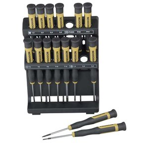 MICRO Screwdrivers, 16 piece set, Model 28148