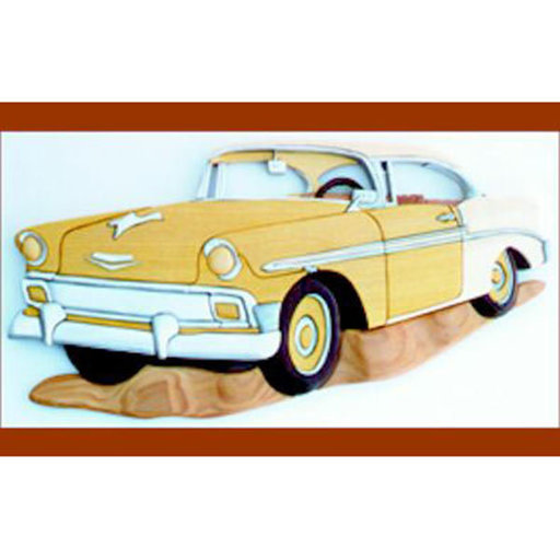 View a Larger Image of '56 Chevy Intarsia Pattern