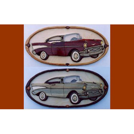 View a Larger Image of '57 Chevy Intarsia Pattern