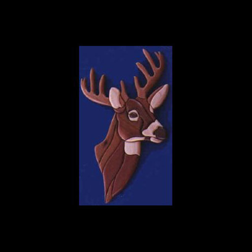 View a Larger Image of Deer Intarsia Pattern