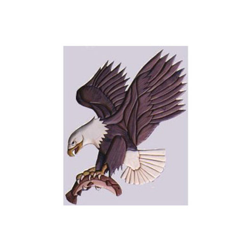 View a Larger Image of Eagle Intarsia Pattern