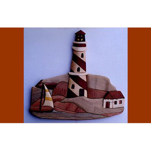 View a Larger Image of Lighthouse Intarsia Pattern